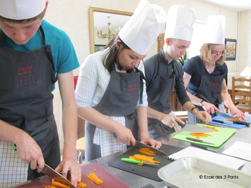 Which better place to learn french cooking that our cooking school in France?