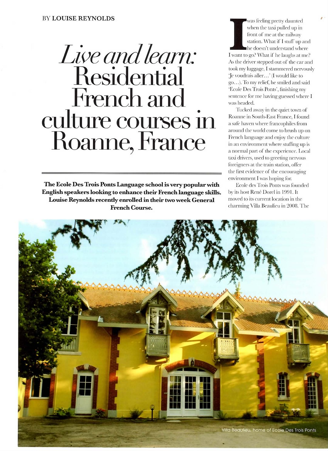 Residential French Courses